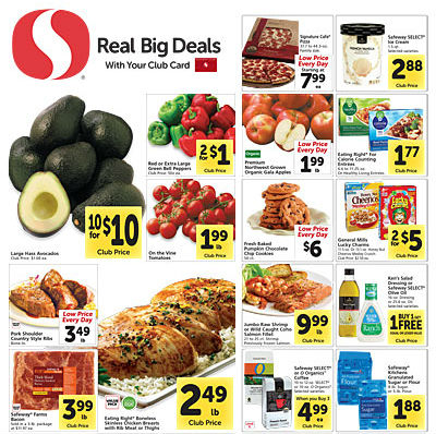 Safeway ad 10.29 coupon