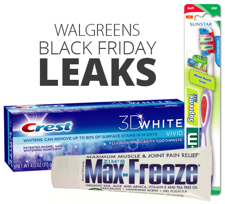 Walgreens Black Friday Rumored Freebies!