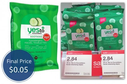 Yes to Cucumber Wipes Target