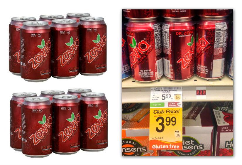 Zevia Soda Safeway Coupon