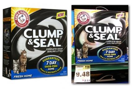 arm hammer clump seal coupon