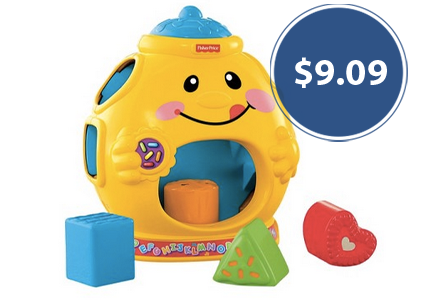 Save 55% on Fisher-Price Laugh and Learn Cookie Shape Surprise!
