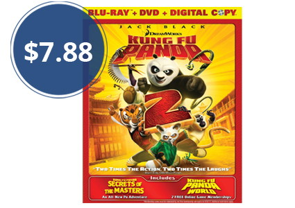 Kung Fu Panda 2 + Secrets of the Masters DVD, Only $7.88!