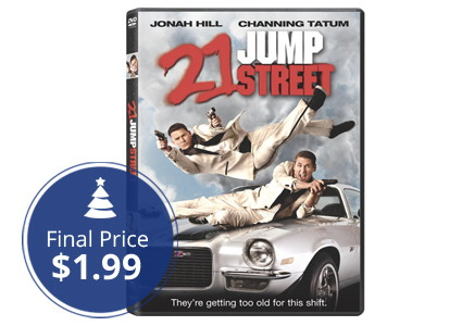 Save 80% on 21 Jump Street DVD, as Low as $1.99!