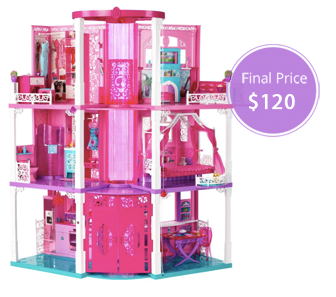 Barbie dream house experience discount coupons