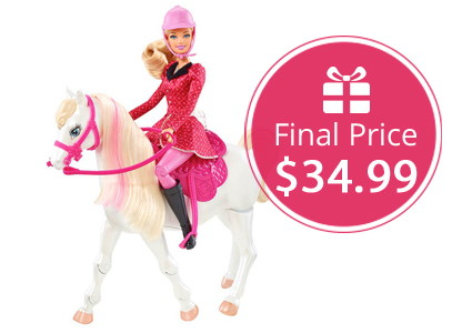 Barbie & Her Sisters Horse Playset, Only $34.99–Hurry!