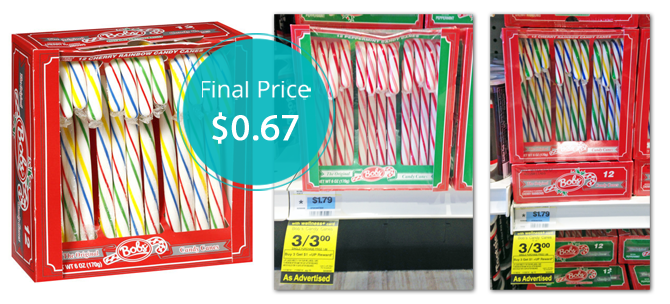 Bob S Candy Canes Only 0 67 At Rite Aid