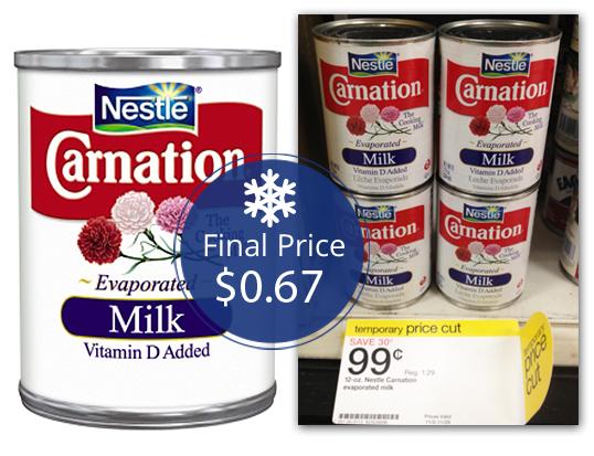 Carnation Evaporated Milk Target