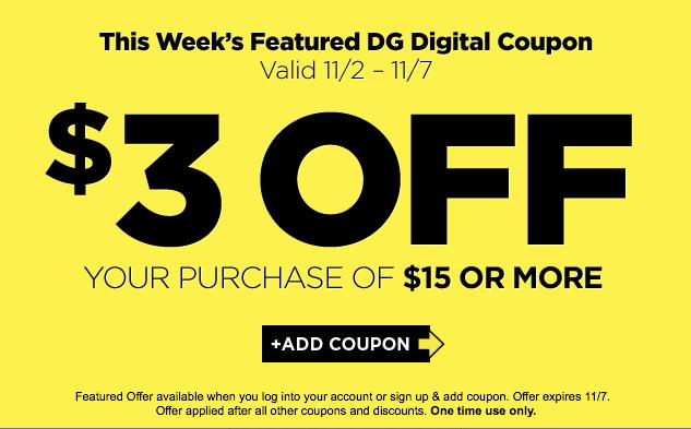DG coupon