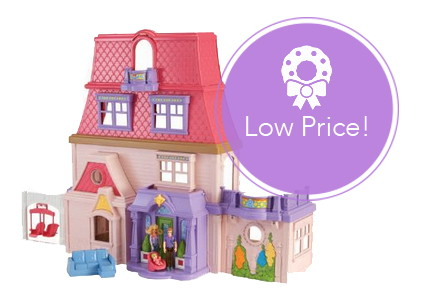 HOT! Fisher-Price Loving Family Dollhouse, Only $34.99–Run!