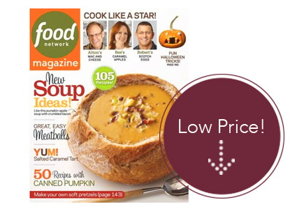 Last Chance! Food Network Magazine Subscription, Lowest Price Ever!