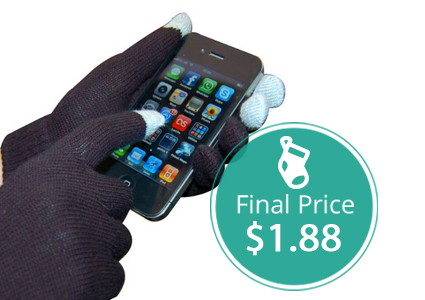 Smart Gloves, Only $1.88 Shipped–Hurry!