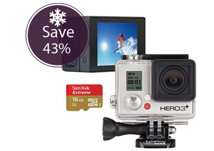 Save $184.98 on a GoPro Hero3 Set!
