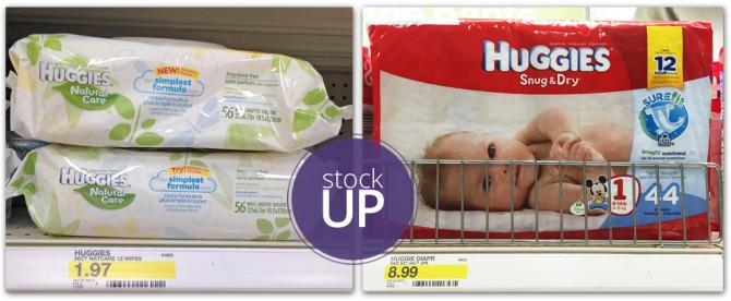 Huggies Wipes and Diapers Target