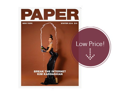 Paper Magazine Subscription, Up to $83 Off + Free Shipping!