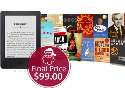 Today Only! Kindle + Six Months of Kindle Unlimited, Only $99!
