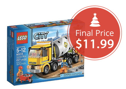 LEGO City Cement Mixer, Only $11.99!