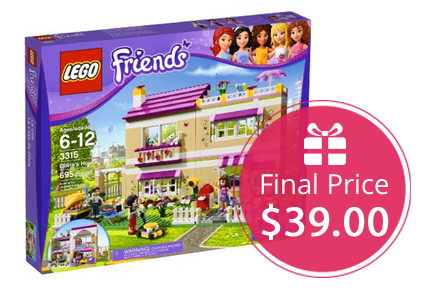 Hot! LEGO Friends Olivia's House Set, Only $39.00!