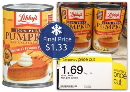 LIbby's Pumpkin Target