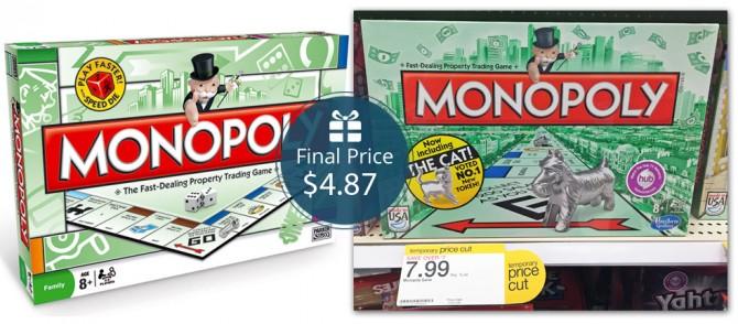 Monopoly Game Target