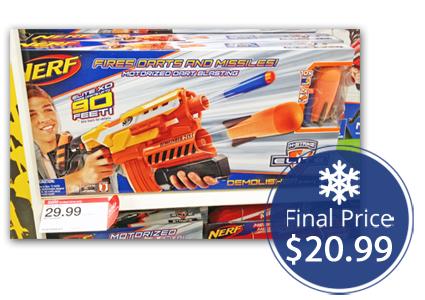 Nerf N-Strike Elite Demolishers–Save $19.00 at Target!