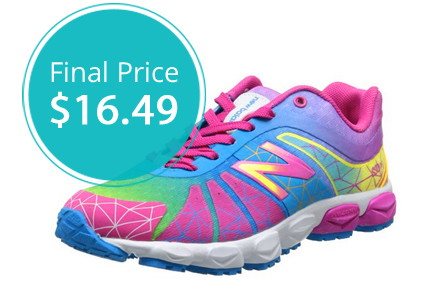 Hot! Kids' New Balance Running Shoes, Only $16.49!
