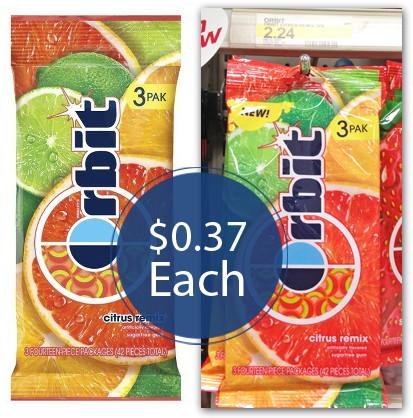 Orbit Citrus Remix Target
