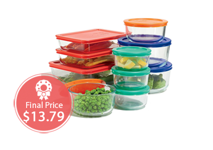 20-Piece Pyrex Storage Set, Only $13.79 at Kohl's!