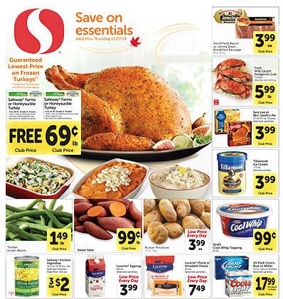 Safeway ad 11.19 Coupon