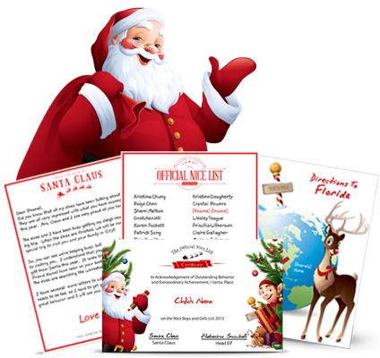 Send Your Child An Official Letter Package From Santa
