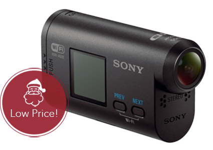 Save 51%–Sony Action Video Camera, Only $98 at Amazon!