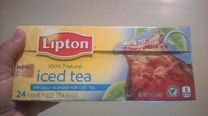 Lipton family size Iced Tea 24 count
