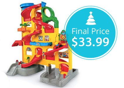 Fisher-Price Little People Wheelies Rampway, Only $33.99!
