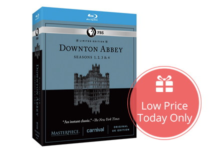 Save 64% on Downton Abbey Seasons 1-4, Only $39.99!