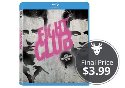 Save 84% on Fight Club: 10th Anniversary Edition Blu-ray!