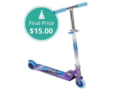 Hot Price – Disney Frozen Girls' Scooter, Only $15!