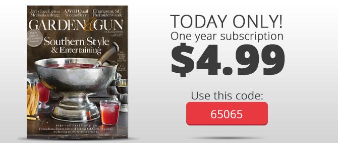 Garden 038 Gun Magazine One Year Subscription Just 499