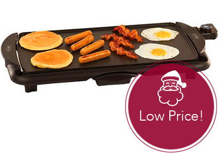 Hot! Bella Family Size Griddle, as Low as $4.99 at Kohl's!