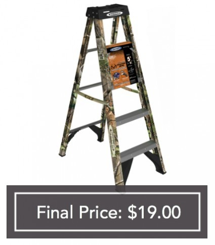 10 Step Ladder Lowes Wood Attic Stairs Werner 3ft