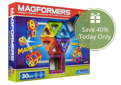 Today Only–Save 40% on Magformers Toys on Amazon!