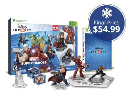 Low Price–Disney Infinity: Marvel Super Heroes Starter Packer, Only $54.99!