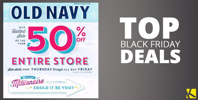 Old Navy Black Friday Deals. In , many Old Navy stores opened at p.m. on Thanksgiving Day for an amazing in-store shopping extravaganza. For shoppers who wanted to avoid the crowds, but still snag some amazing deals, Old Navy had them covered with an extensive online sale.