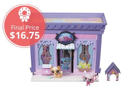 Low Price–Save 58% on Littlest Pet Shop Style Set!