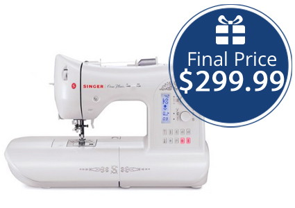 Save up to 68% on Singer Sewing Machines–Today Only!