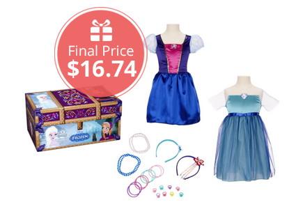 Disney Frozen Travel Dress-Up Trunk, as Low as $16.74 Shipped!