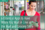 Earn money while you wait to check out at the store!