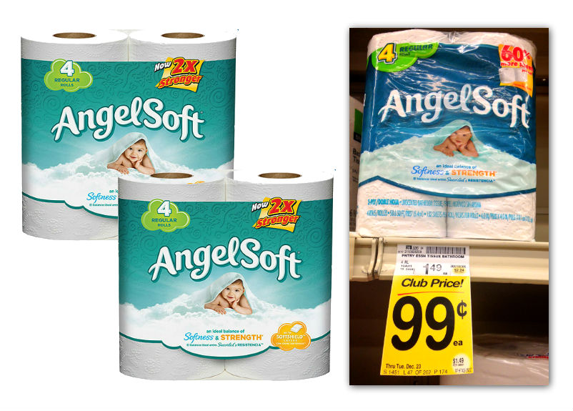 Angel Soft Bath Tissue Safeway Coupon