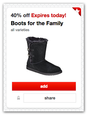 Boots Target