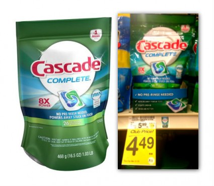 Cascade Action Pacs Coupon
