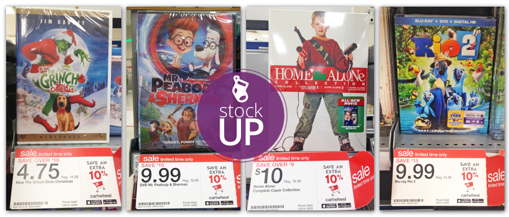 DVD Stocking Stuffers: 5 Under $5.00 at Target! - The Krazy Coupon ...